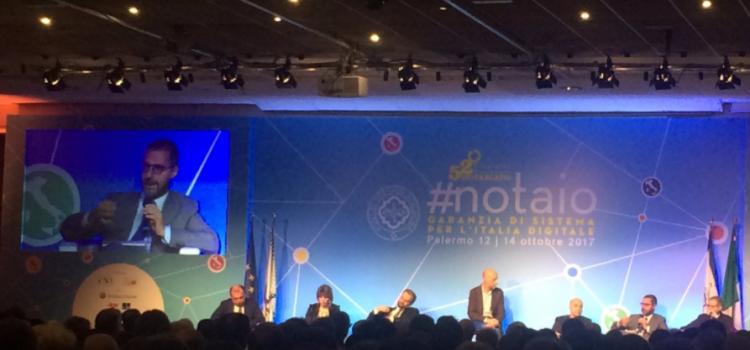 Congresso Nazionale del Notariato, la nuova frontiera notarile si chiama Notarchain
