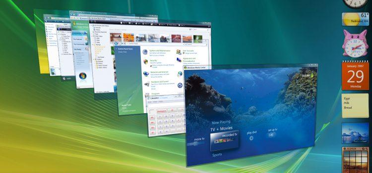 Disattivazione supporti per Windows Vista e XP dal 31 gennaio 2018