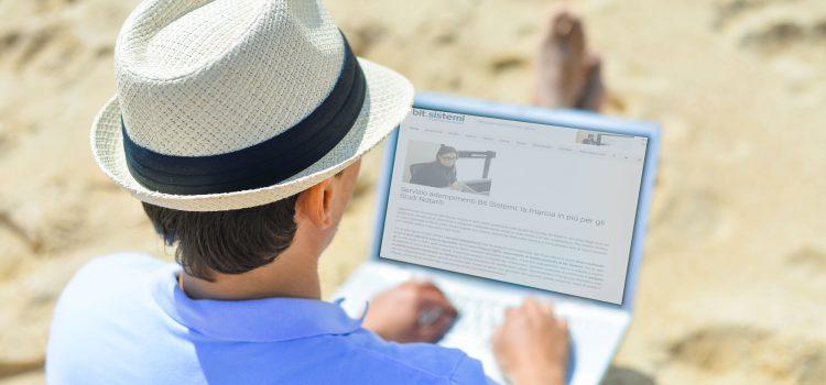 Torna lo sportello digitale Bit Sistemi per luglio e agosto